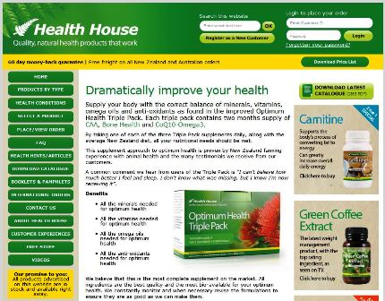 Click on the image to view the new Health House website